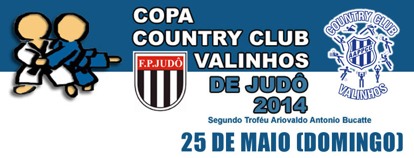 Copa Country Judô 2014 – Slider