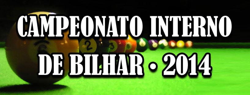 Campeonato Interno de Bilhar – Slider
