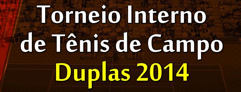 Torneio de Tênis Duplas – Slider