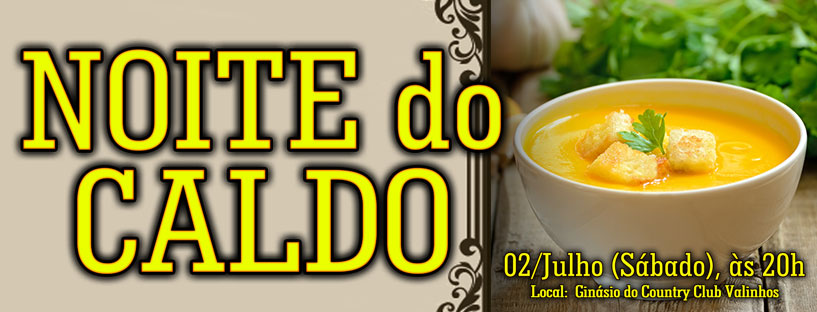 Noite do Caldo 2016 – Slider