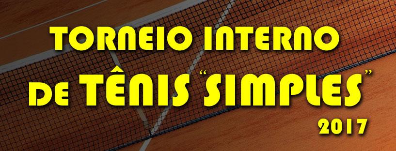 Torneio Tênis Simples 2017 – Slider