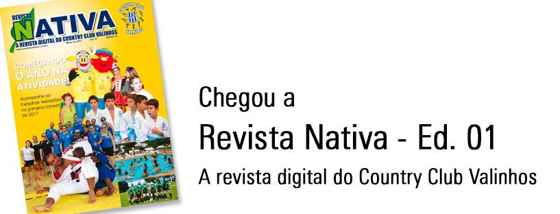 Revista Nativa – Ed. 01 – Slider