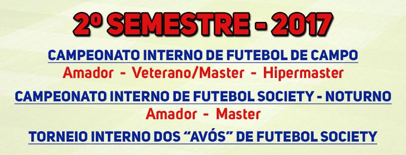 Campeonatos 2º Semestre 2017 – Slider